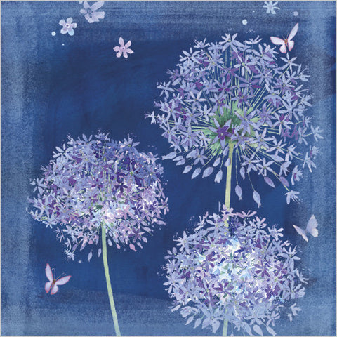 Blue Alliums