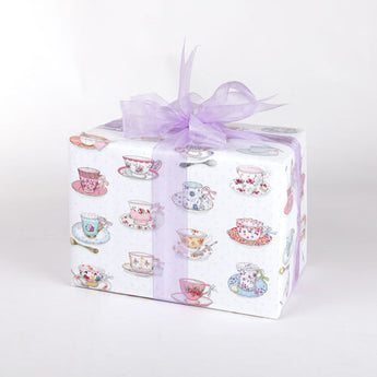 China Cups (Folded) Gift Wrap