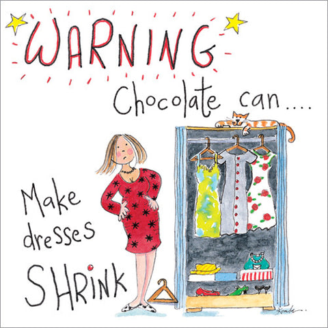 Chocolate Warning!