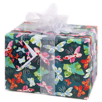 Floral Butterflies (Folded) Gift Wrap