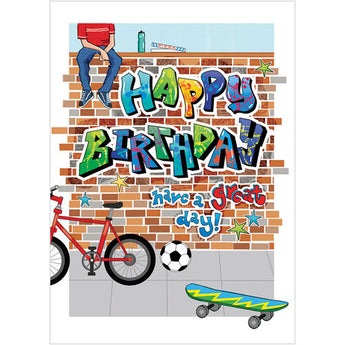 Birthday Cards for Young Teens Blue Morpho