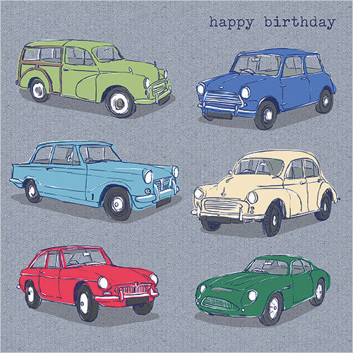 Happy Birthday Cars