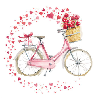 Hearts on a Bicycle