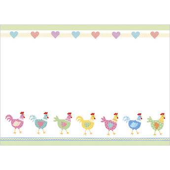 Hens (Pack of 10 note cards)