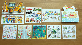 """Toddler Birthday"" - Multipack of 10 cards ($18 per card)"