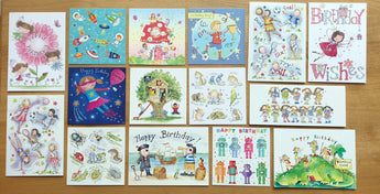 """Kids Collection"" - Multipack of 15 cards ($20 per card)"