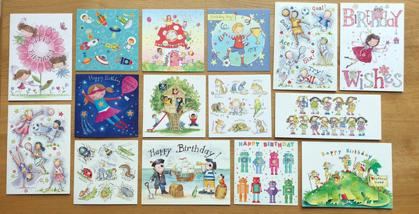 """Kids Collection"" - Multipack of 15 cards"