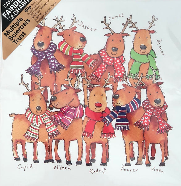 Santa's Reindeer (pack of 8)