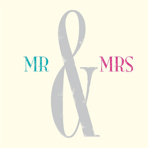 Mr & Mrs (Large Card)