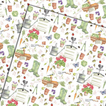 In the Garden (Folded) Gift Wrap