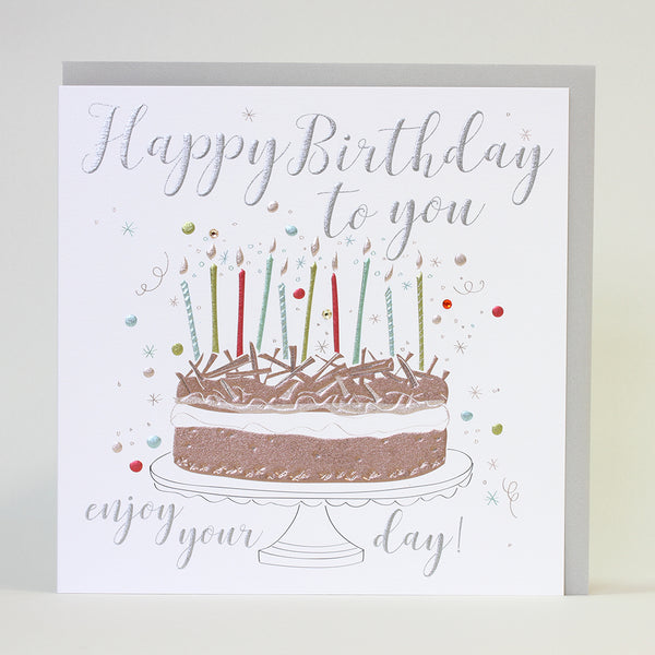 Happy Birthday to you Enjoy Your Day (Large Card)