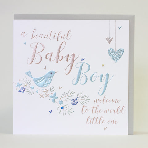 A Beautiful Baby Boy (Large Card)