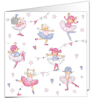 Little Dancers Gift Tag