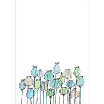 Poppy Seeds (Pack of 10 note cards)