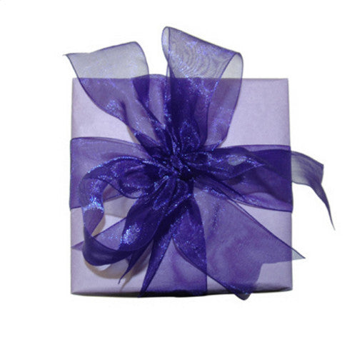 Purple Organza Ribbon (6 metres)
