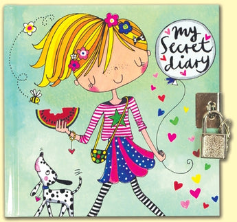 Girl with Dog Secret Diary by Rachel Ellen