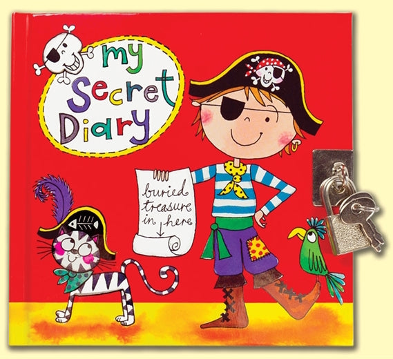 Pirate Secret Diary by Rachel Ellen