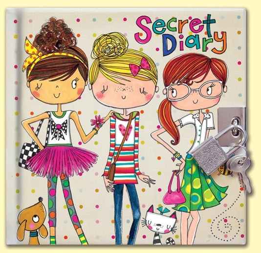 Friends Secret Diary by Rachel Ellen