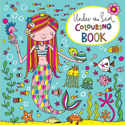 Mermaid Colouring Book