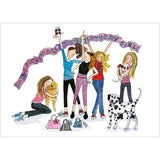 """Party Girls"" - Multipack of 10 cards ($18 per card)"