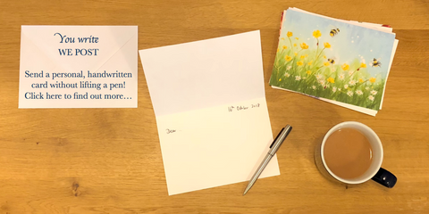 Card Writing Service - You write, we post!