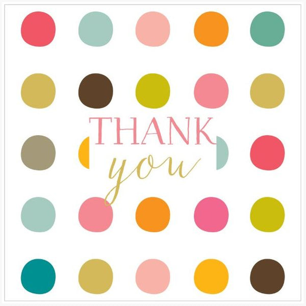 Thank You Dots (Large Card)