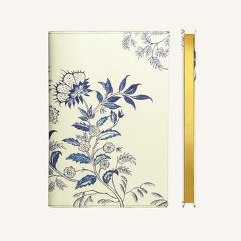Flower Wow Lined Notebook A5 - Ceramic White