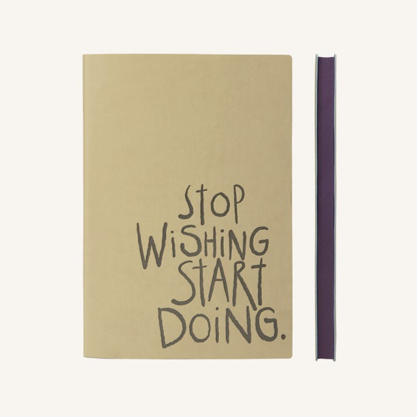 Signature Inspiro Lined Notebook A5 - Caramel Colour