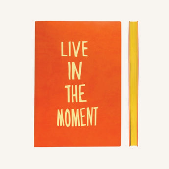 Signature Inspiro Lined Notebook A5 - Orange Colour