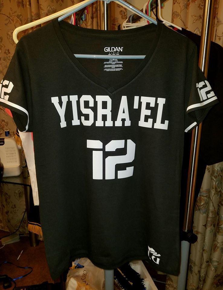 WOMENS I AM ISRAEL V-NECKS...SEVERAL TO CHOOSE FROM