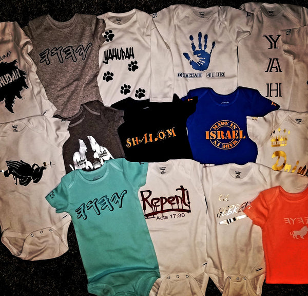 YOUTH 4 for 60.00 Customized Baby Onesies