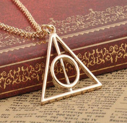 Harry Potter and the Deathly Hallows: Xenophilius Lovegood Charm Pendant Necklace