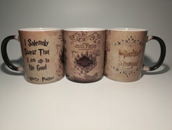 Harry Potter Marauders Map Color Changing Mugs - 10DollarCart