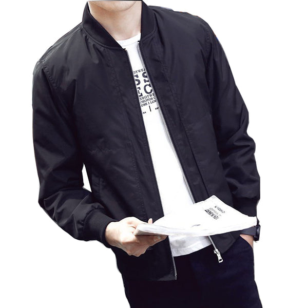 Autumn Men's Jacket Baseball Slim Fit Casual Jacket