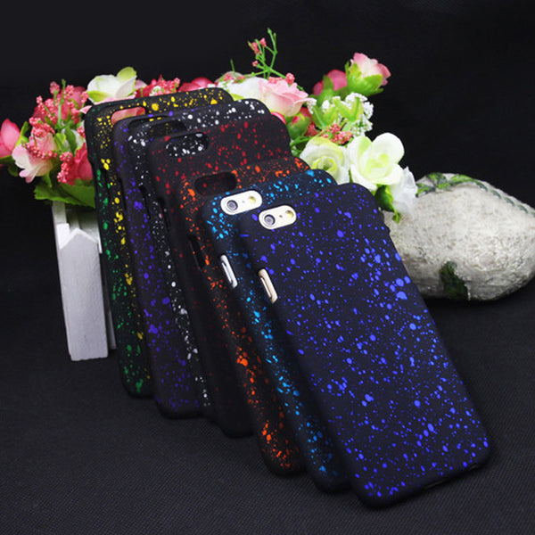 Bling Frosted Starry Sky 9 Color Cover Cases for iPhone 6/6S - 10DollarCart