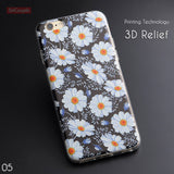 Fruits and Flower iPhone case