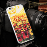 Fashion 3D watercolour drawing iPhone case