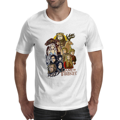 Funny Game Of Thrones Jon Snow, Tyrion, Mother of Dragons, Arya Stark, Drogo, Men's T-Shirts