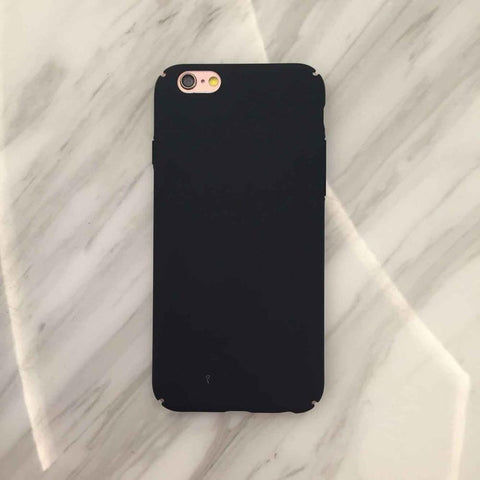 Colorful Frosted Hard Scrub iPhone Case - 10DollarCart