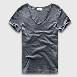 Basic Freestyle Solid Color Light T-Shirt