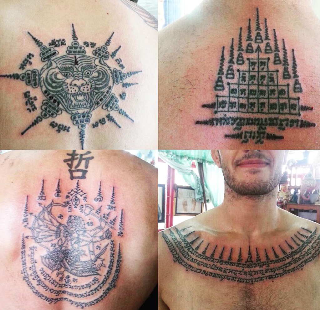 Sak Yant Traditional Thai Tattoos