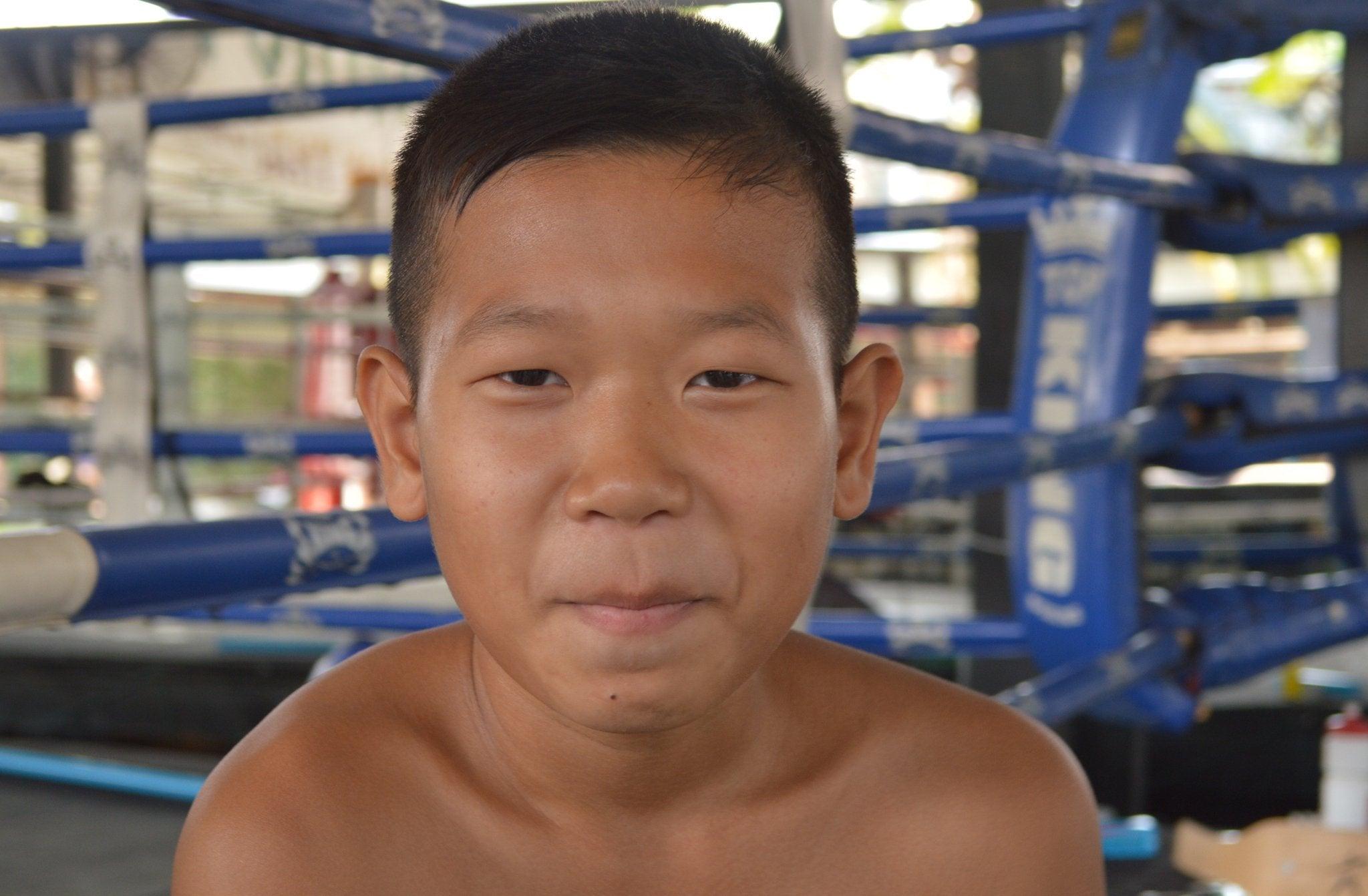 Young Nak Muay Boxers in Muay Thai