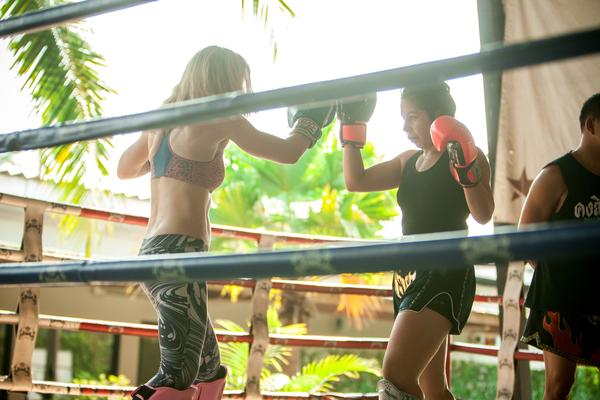Learn invaluable lessons in life Muay Thai