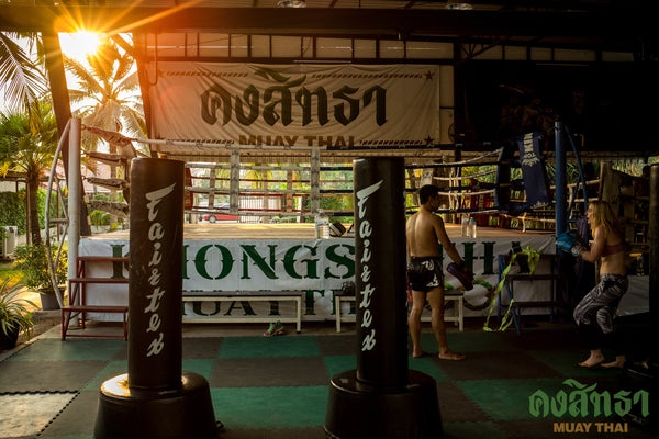 Training for a Fight at Khongsittha