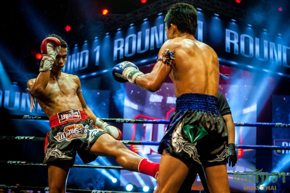 Muay thai fight thailand