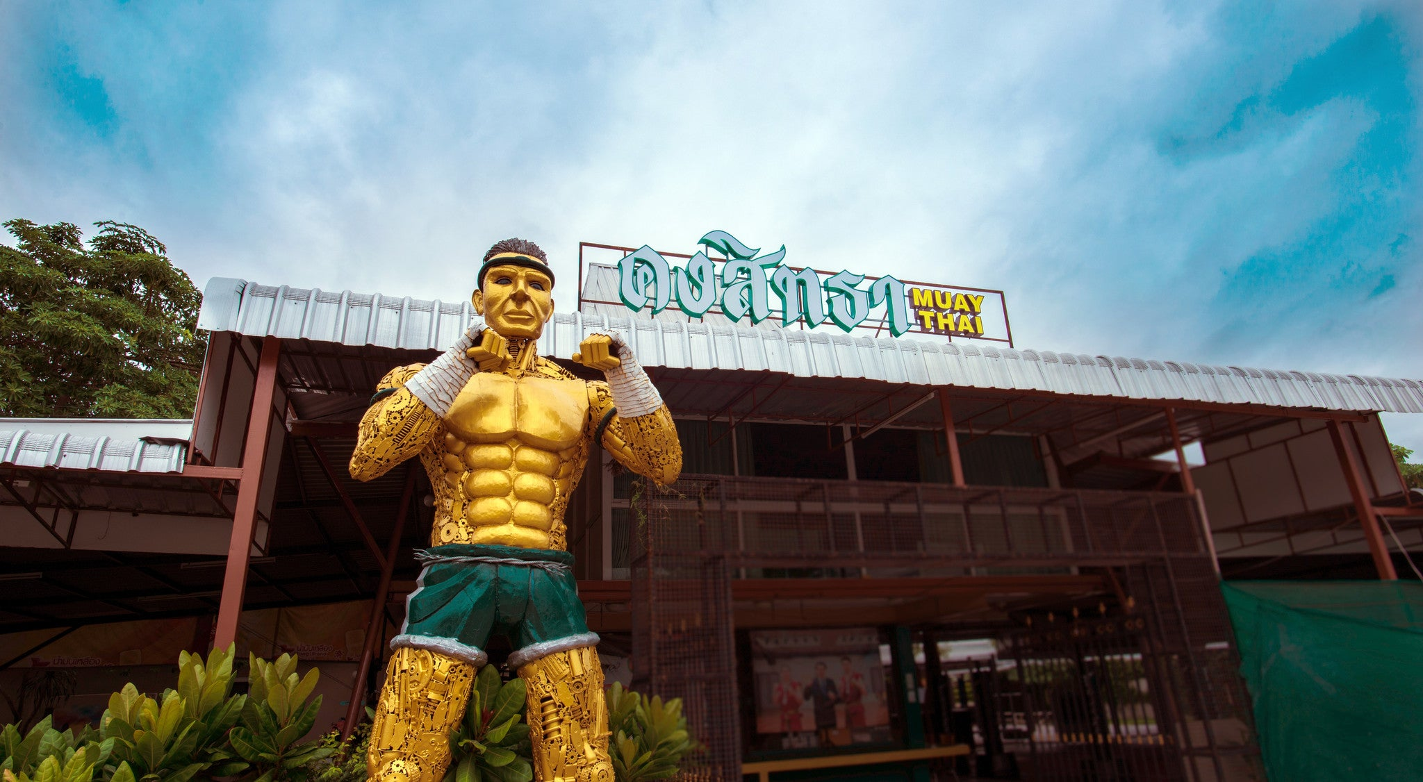 The Largest Bangkok Muay Thai Gym