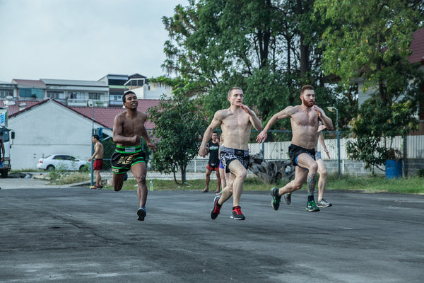 Speed Training at Khongsittha