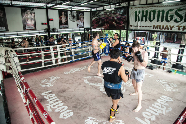 In the Ring at Khongsittha