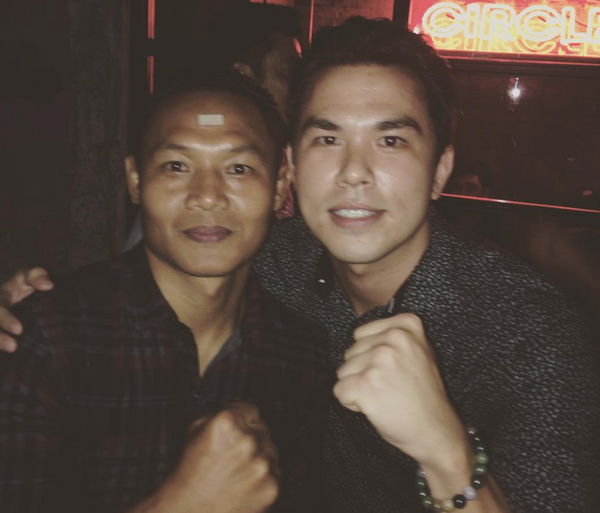 Saenchai and Keith