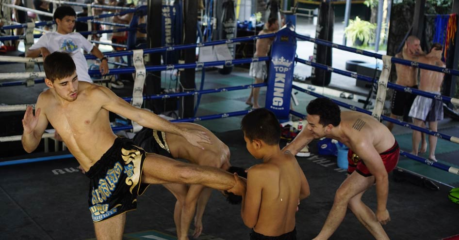 Muay Thai figher Khongsittha